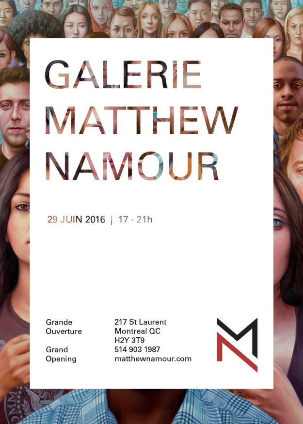 Grand Ouverture Galerie Matthew Namour