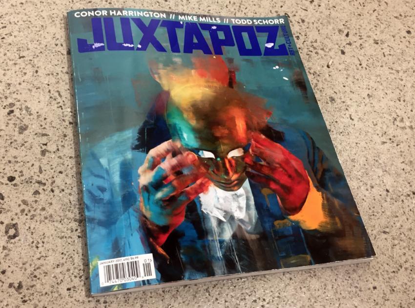 juxtapoz magazine ravi zupa matthew namour street art montreal gallery